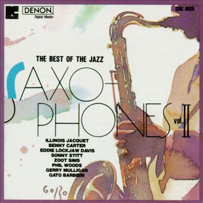 Best of the Jazz Saxophones, Vol. 2