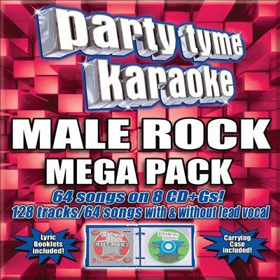Party Tyme Karaoke: Male Rock Mega Pack
