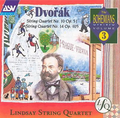 Dvorák: String Quartet No. 10, Op. 51; String Quartet No. 14, Op. 105