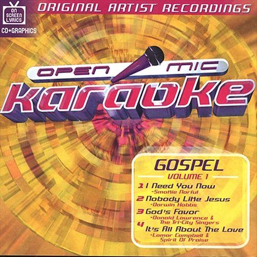 Open Mic Karaoke: Gospel, Vol. 1
