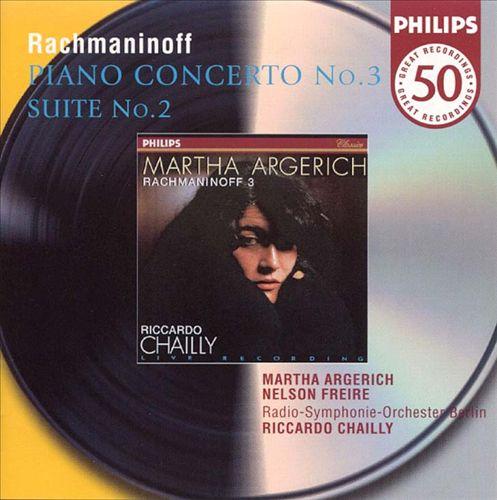 Rachmaninoff: Piano Concerto No. 3, Op. 30; Suite No. 2 for two pianos