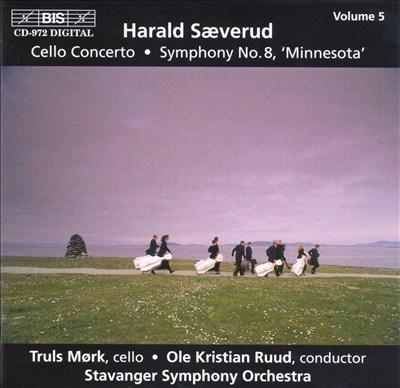 Harald Sæverud: Cello Concerto; Symphony No. 8