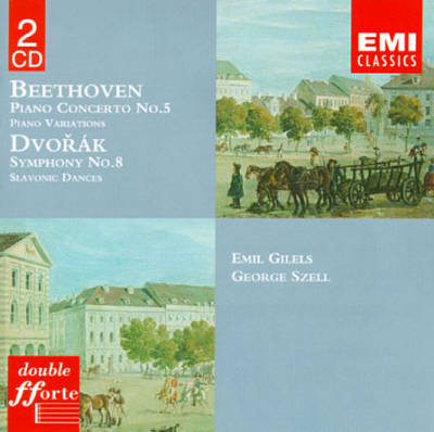 Beethoven: Piano Concerto No. 5; Piano Variations; Dvorák: Symphony No. 8; Slavonic Dances