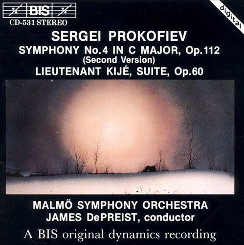 Prokofiev: Symphony No. 4 (Second Version); Lieutenant Kijé Suite