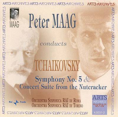 Peter Maag conducts Tchaikovsky Symphony No. 5 & Concerto Suite from the Nutcracker
