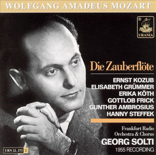 Mozart: Die Zauberflöte [1955 Recording/34 Tracks]