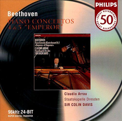 Beethoven: Piano Concertos Nos. 4 & 5