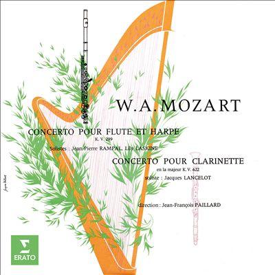 Mozart: Concerto for Flute & Harp; Concerto for Clarinet