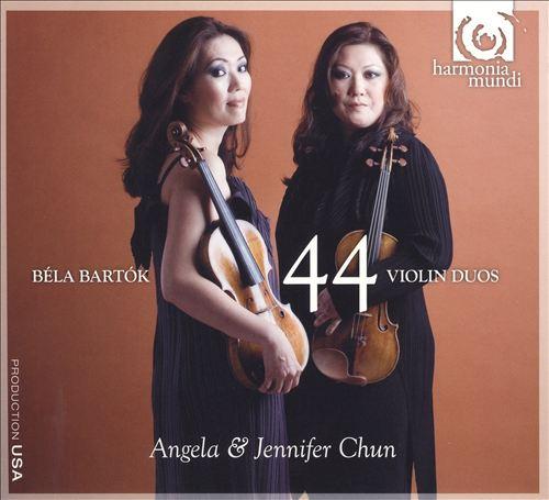 Bartók: 44 Violin Duos