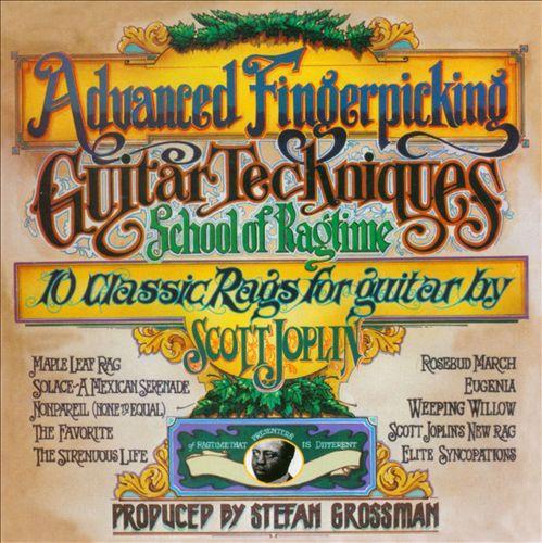 10 Classic Rags of Scott Joplin: Arranged for Fingerstyle Guitar