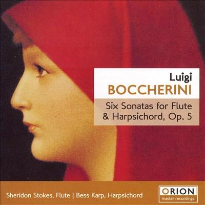 Boccherini: Six Sonatas for Flute & Harpsichord, Op. 5