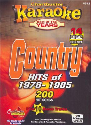Karaoke: Country Hits of 1978 - 1985