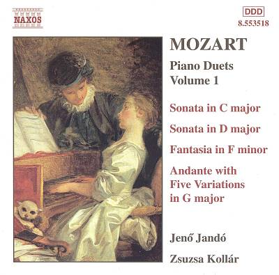 Mozart: Piano Duets, Volume 1