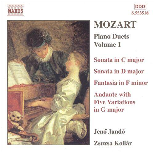 Mozart: Piano Duets, Volume 1