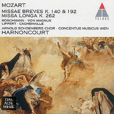 Mozart: Missa Breves K.140 & 192; Missa Longa K.262