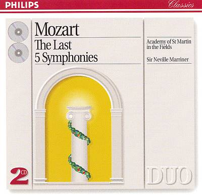 Mozart: The Last Five Symphonies