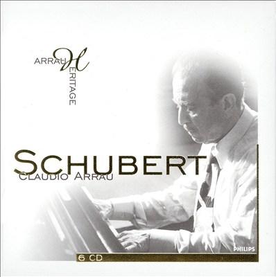 Claudio Arrau Performs Schubert [Box Set]