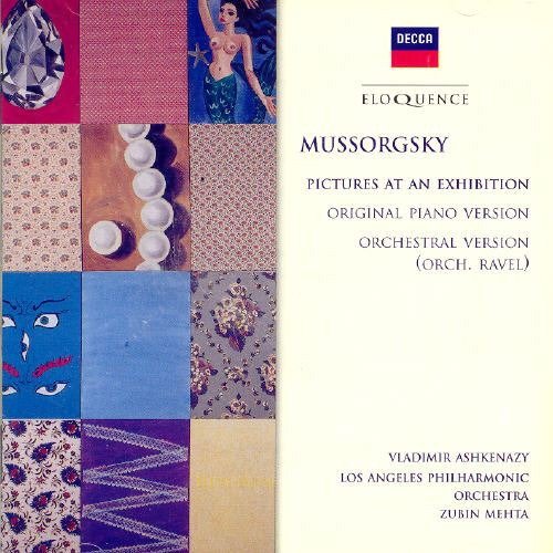 Mussorgsky: Pictures at an Exhibition (Piano & Orchestral Versions) [Australia]