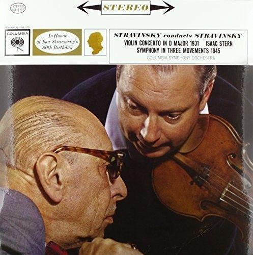 Stravinsky conducts Stravinsky: Violin Concerto in D major, Symphony in Three Movements