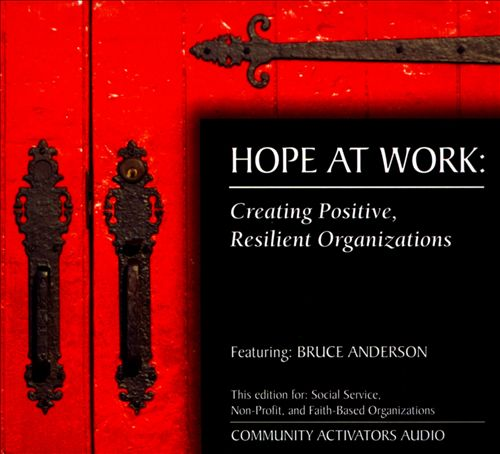 Hope At Work: Creating Positive, Resilient Organizations