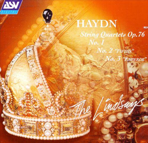Haydn: String Quartets, Op.76 - No. 1, No. 2