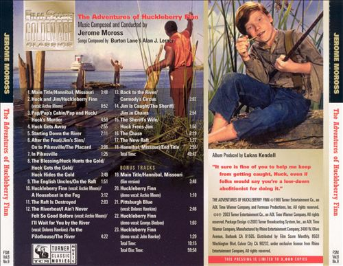 The Adventures of Huckleberry Finn [Original Motion Picture Soundtrack]