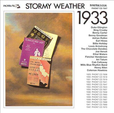 Stormy Weather: 1933