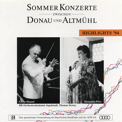 Sommerkonzerte Zwischen Donau und Altmühl: Highlights '94