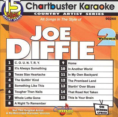 Chartbuster Karaoke: Joe Diffie, Vol. 2