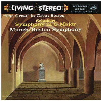 """Schubert: Symphony in C major - """"The Great"""" in Great Stereo"""