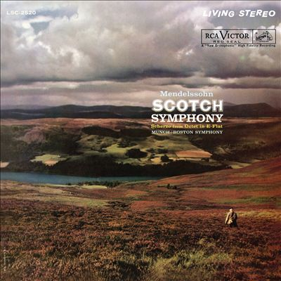 Mendelssohn: Scotch Symphony; Scherzo from Octet in E-flat