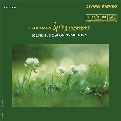 Schumann: Spring Symphony and Manfred Overture