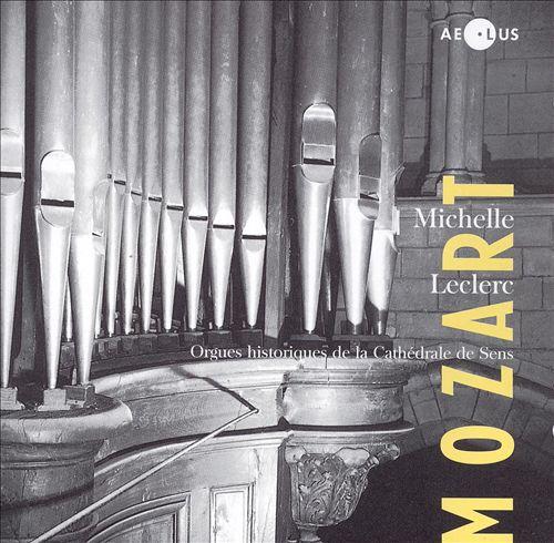 Mozart: Œuvres pour orgue