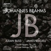 Johannes Brahms: Clarinet…