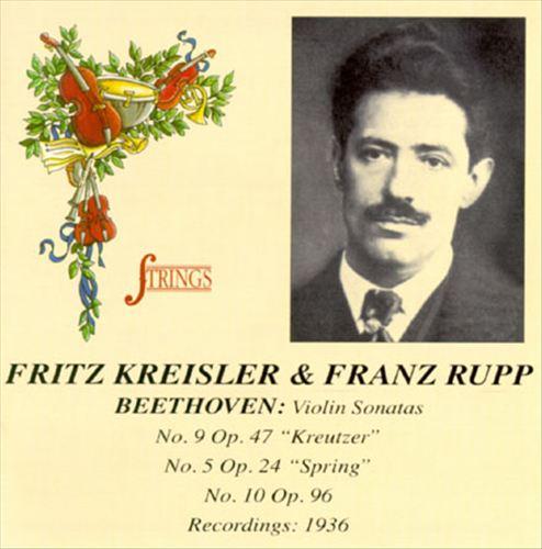 Beethoven: Violin Sonata Nos.5, 9, & 10