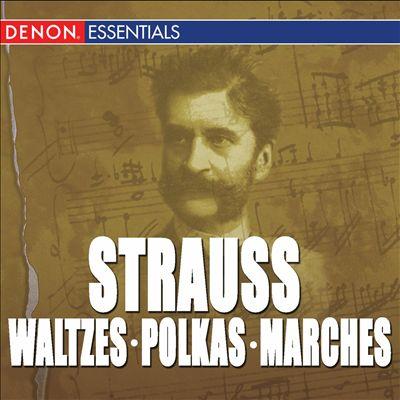 Great Strauss Waltzes, Polkas & Marches