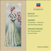 Mahler: Symphony No. 1; Wagner: Tannhäuser - Overture and Venusberg Music; Richard Strauss: Der Rose
