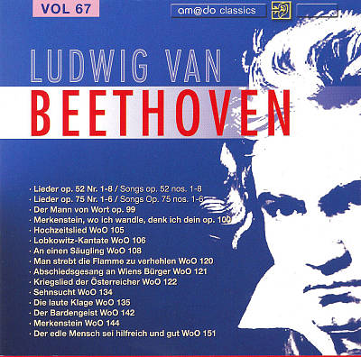Beethoven: Complete Works, Vol. 67