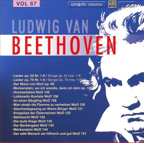 Beethoven: Complete Works, Vol. 67
