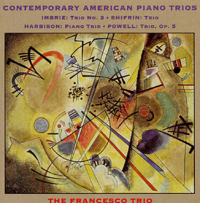 Contemporary American Piano Trios, Vol. 1