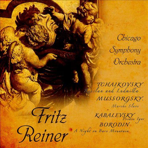 Tchaikovsky: Russlan and Ludmilla; Mussorgsky: Marce Slave; Kabalevsky: Prince Igor - Mussorgsky: Marche Slave; Borodin: A Night o