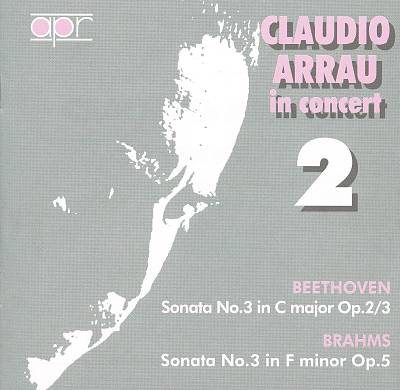 Claudio Arrau in Concert, Vol. 2