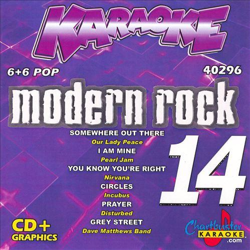Chartbuster Karaoke: Modern Rock, Vol. 14