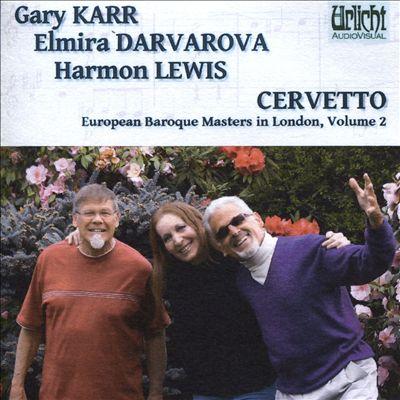 European Baroque Masters in London, Vol. 2: Cervetto