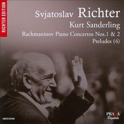 Rachmaninov: Piano Concertos Nos. 1 & 2; Preludes (4)