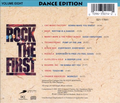 Rock the First, Vol. 8