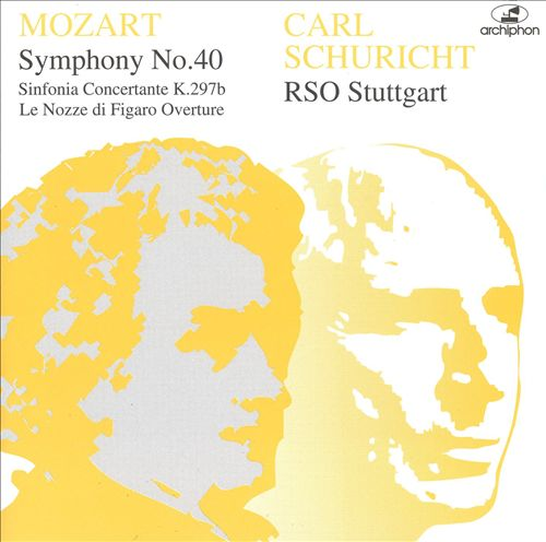 Mozart: Symphony No.40; Sinfonia Concertante, K.297b