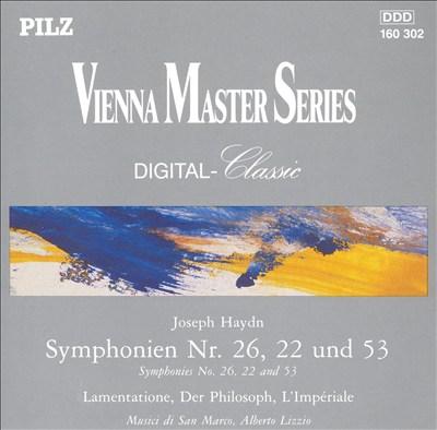 Haydn: Symphonien Nr. 26, 22 und 53