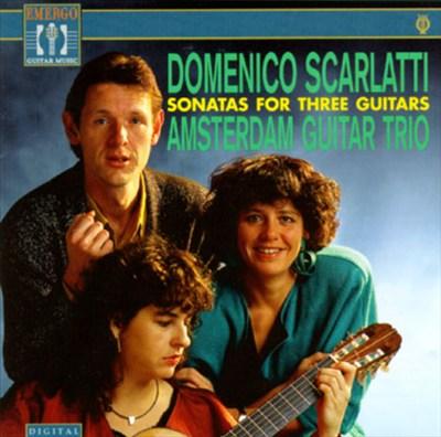 Scarletti:Sonatas For Three Guitars