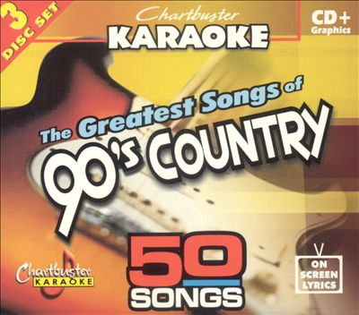Chartbuster Karaoke: Greatest Songs of 90s Country Hits